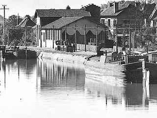 Sous-station et atelier-garage de Chauny